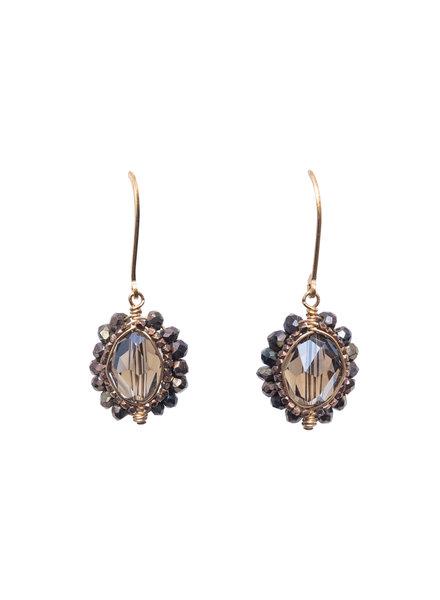 Dana Kellin Fashion Smoky Quartz Earrings