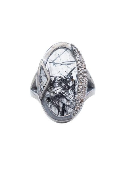 Shana Gulati Duoro Ring Silver