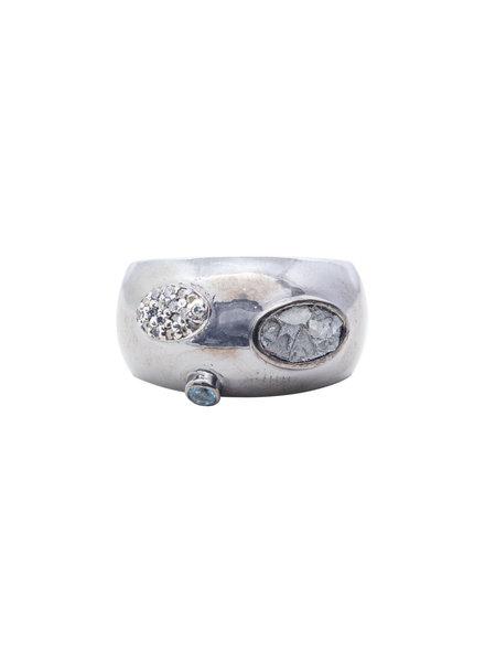 Shana Gulati Souda Ring Silver