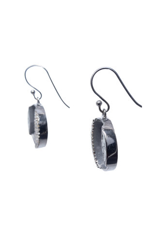 Shana Gulati Tonsa Drop Earrings Silver
