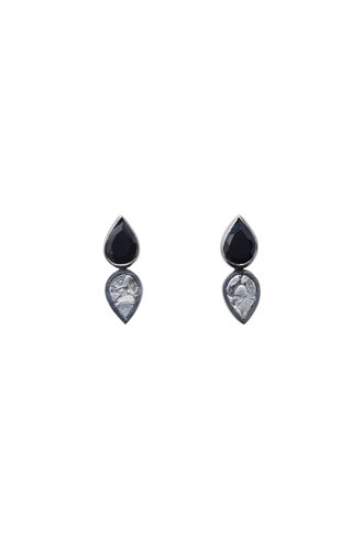 Shana Gulati Leroy Stud Earrings Silver
