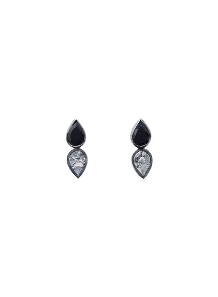Shana Gulati Leroy Stud Earrings Silver