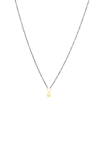 Sarah McGuire Two-Tone Diamond Spangle Necklace