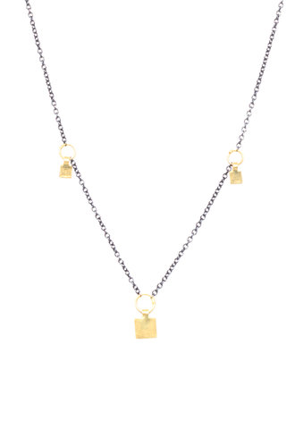 Sarah McGuire Two-Tone Station Necklace