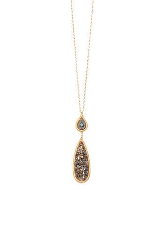 Dana Kellin Fashion Bronze Mix Necklace