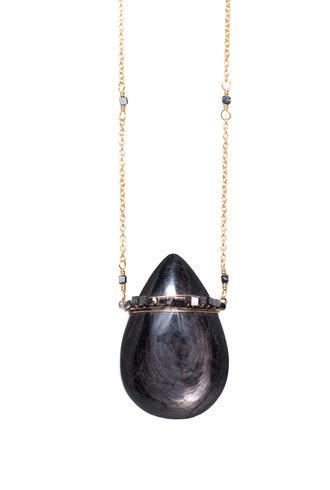Dana Kellin Fine 14k Diopside Necklace