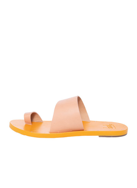 Beek Finch Sandal Natural Saffron