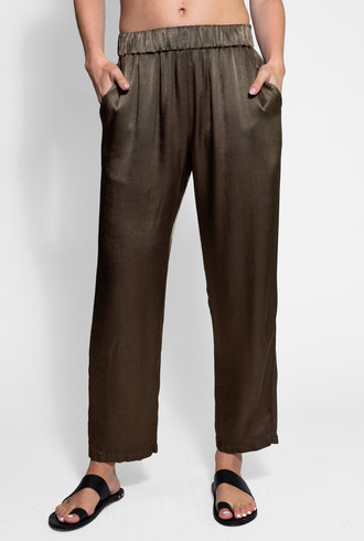 Raquel Allegra Ankle Pant Moss