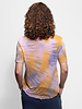 Raquel Allegra Boxy Tee Solar Tie Dye