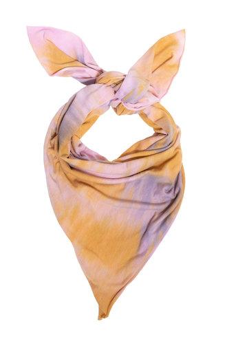 Raquel Allegra Square Scarf Solar Tie Dye
