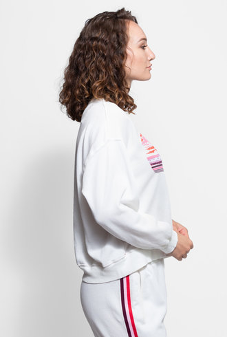 Xirena Carly Sweatshirt White Shells