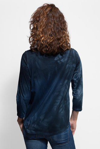 MA+CH 3/4 Sleeve Shirt Tail Ivy Coal