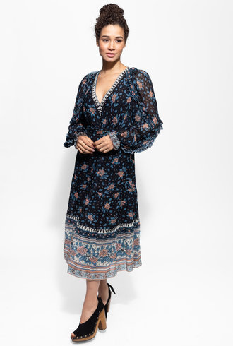 Ulla Johnson Romilly Dress Noir