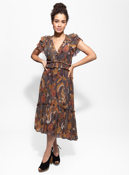 Ulla Johnson Cicely Dress Amber