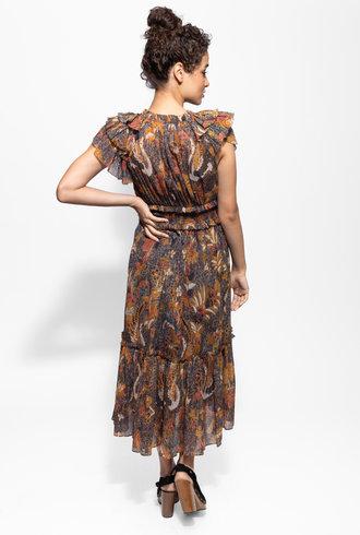 Ulla Johnson Cicely Dress Amber