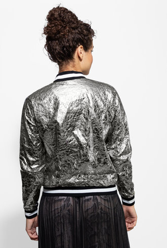 Loyd/Ford Silk Lined Bomber Silver