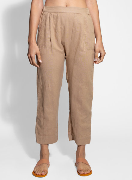 The Great The Wide Leg Harem Pant Khaki