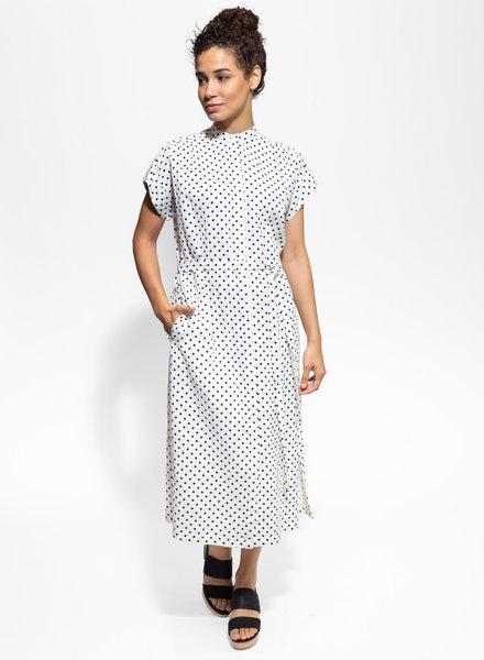 Trovata Astrid Easy Dress Navy Dots