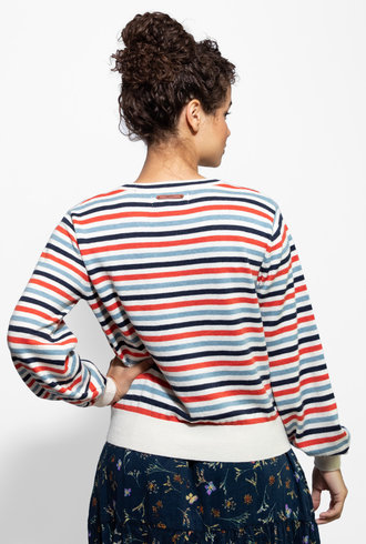 Trovata Stella Sweater Multi Stripe
