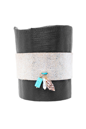 Renee Garvey Earth Leather Cuff