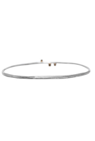 Sarah McGuire Two Tone Diamond Vine Bangle