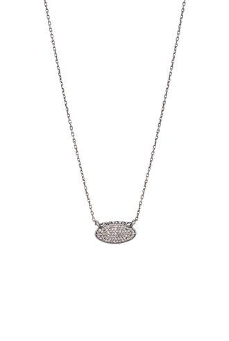 Dana Kellin Fine Diamond and Silver Necklace