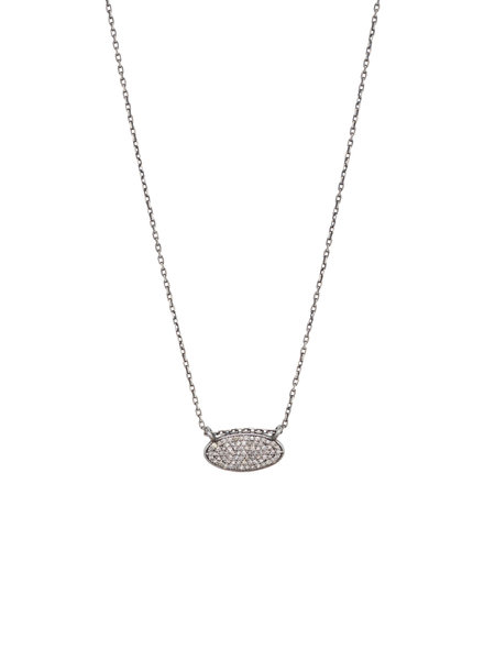 Dana Kellin Fine Diamond and Silver Necklace