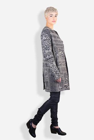 Gary Graham Discordia Jacquard Coat