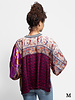 Burning Torch Wonderland Dolman Sleeve Blouse Multi