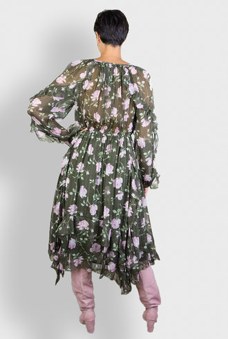 Ulla Johnson Lorelei Dress Olive