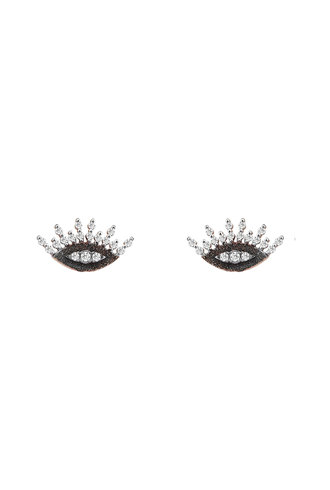 KISMET by Milka 10th Eye Regina Studs with White Diamond