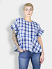 The Great The Twirl Top Blue Picnic Plaid