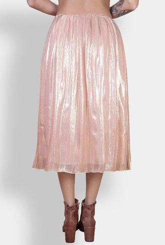 Pomandere Skirt Rose Metallic