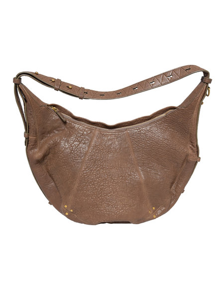 Jerome Dreyfuss William Banana Bag Bronze Bubble Lambskin