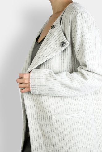 Local Sinny Jacket Natural Stripe