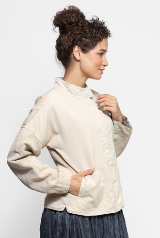 Burning Torch Agras Twill Jacket Sand