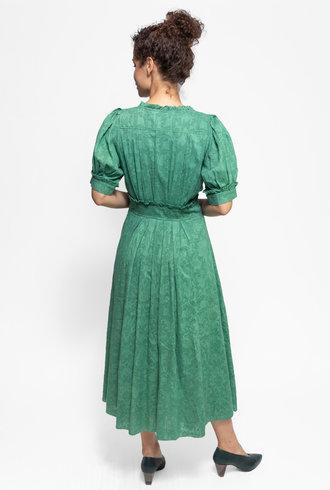 The Great The Alder Dress Bottle Green
