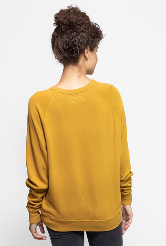 The Great The College Sweatshirt Butterscotch