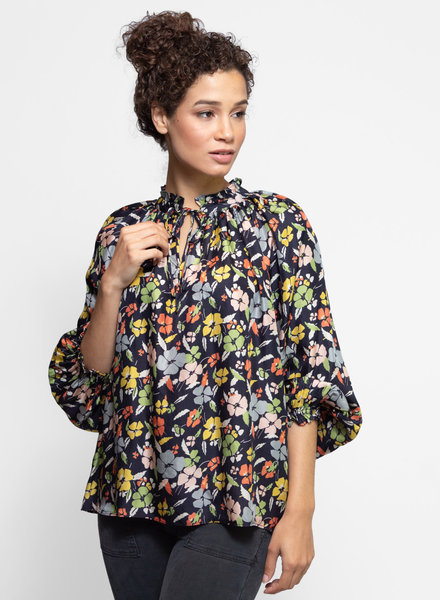 The Great The Lyric Top Valley Floral Print