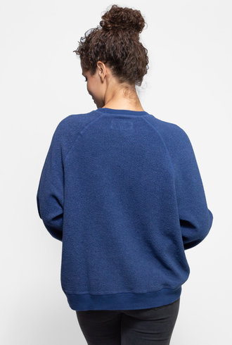 The Great The Slouch Sweatshirt Cobalt