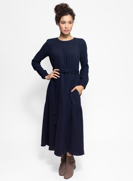 Xirena Eliot Dress Navy Night