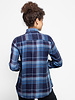 Trovata Grace Classic Shirt Blue Plaid