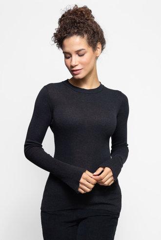 Inhabit Crew Neck Sweater Graphite