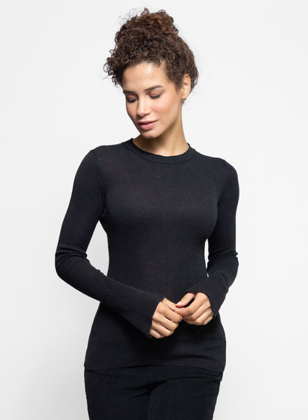 Inhabit Crew Neck Sweater Graphite