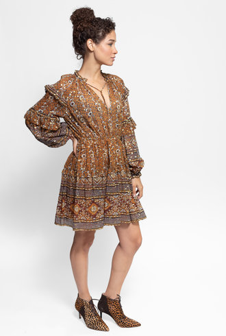 Ulla Johnson Erisa Dress Ochre