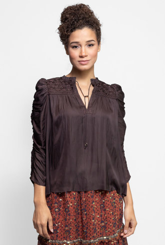 Ulla Johnson Lissa Blouse Noir