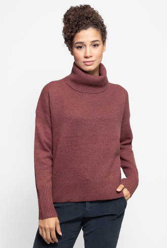 360 Sweater Raelynn Sweater Rosewood