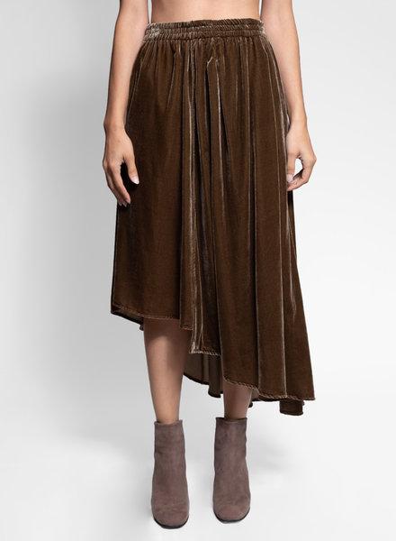 Apiece Apart Turkanna Skirt Deep Moss