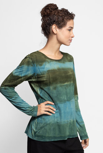MA+CH Long Sleeve Classic Crew Landscape Mineral