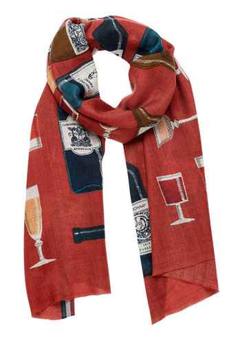 Inouitoosh Bacchus Scarf Rose Wood / Bois de Rose